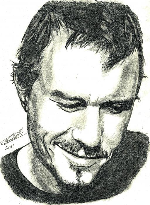 Heath Ledger by Fanfaron